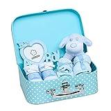 Baby Box Shop Cesta para Bebé para Regalo Baby Shower Niño con Accesorios para Recién Nacido...