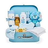 Baby Box Shop - Cesta regalo bebé niño para baby shower con todo lo esencial para bebes...