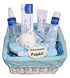 Cesta Bebé Pequeña Mustela Azul, canastilla para bebe ideal recien nacido