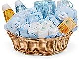 Baby Box Shop - Cesta regalo bebé niño con ropa de bebé - Artículos esenciales para niños...