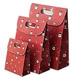 LAVALINK 10pcs Caja Reutilizable Craft Cajas de Papel del Bolso de Mano del Regalo del Caramelo...