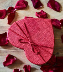 Caja forma corazon