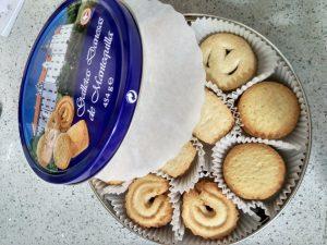 caja galletas