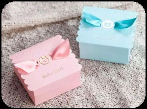Cajas regalo para Baby Shower