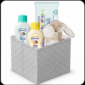 Canastilla regalo bebé recién nacido Nenuco