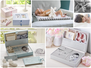 Comprar caja de recuerdos para bebé de cartón