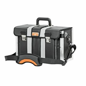 Cajas de herramientas de cuero con correa ajustable al hombro