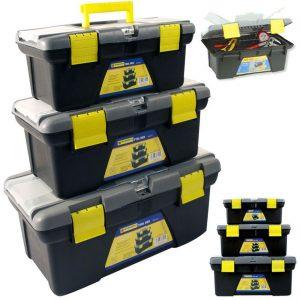 Cajas para herramientas de diferentes tamaños