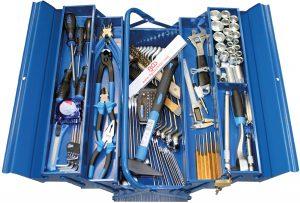 Organización interna y espacio de almacenaje de las cajas de herramientas