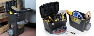 Portabilidad de las cajas de herramientas modulares y con ruedas