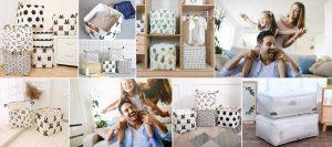 Comprar cajas de tela para ropa