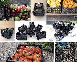 Manualidades con cajas de plástico para horticultura. ¡No las tires!