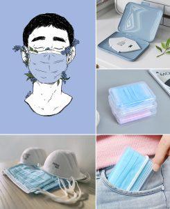 Estuches antibacterianos para guardar las mascarillas a buen precio