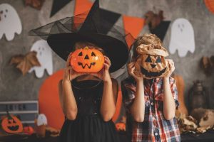 Cajas y bolsas para fiestas de Halloween