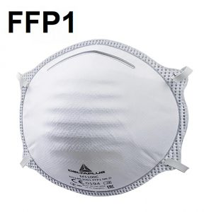 Mascarillas FFP1 desechable sin válvula