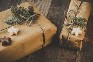 Decoración de cajas de navidad