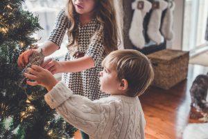 Decoración más trendy de cajas de regalo para navidad