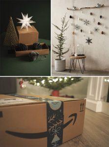 20 Manualidades DIY de Navidad con Cajas