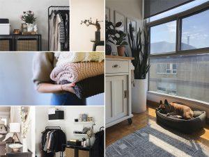 ¡Haz frente atu hogarde habitación en habitación con cajas tela de ordenación!