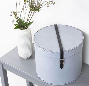 Compra desde casa una caja regalo redonda y recrea tu propio estilo vintage