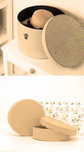 ¡Agrega belleza, practicidad, carácter e interés visual con nuestras cajas grandes redondas!