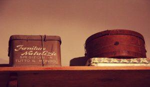Un recipiente redondo que se inspira en el toque vintage...